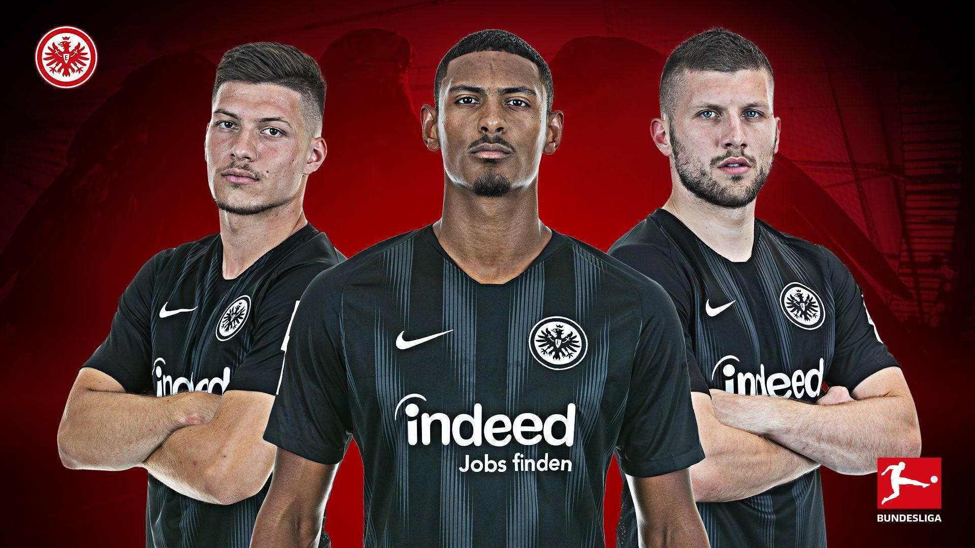¡El trío letal del Eintracht Frankfurt!