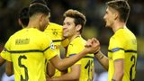 Dortmund win in Monaco to top Group A