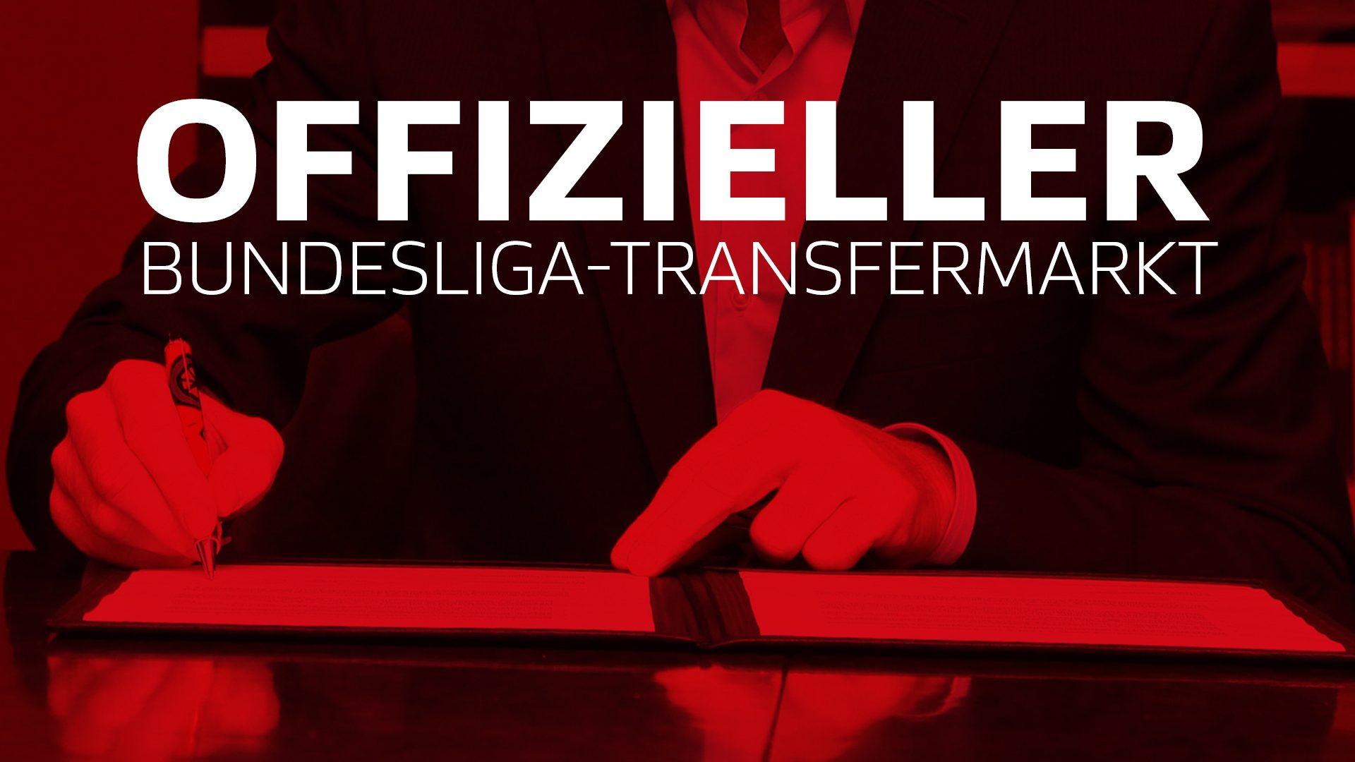 Offizieller Transfermarkt: Alle Wechsel der Clubs