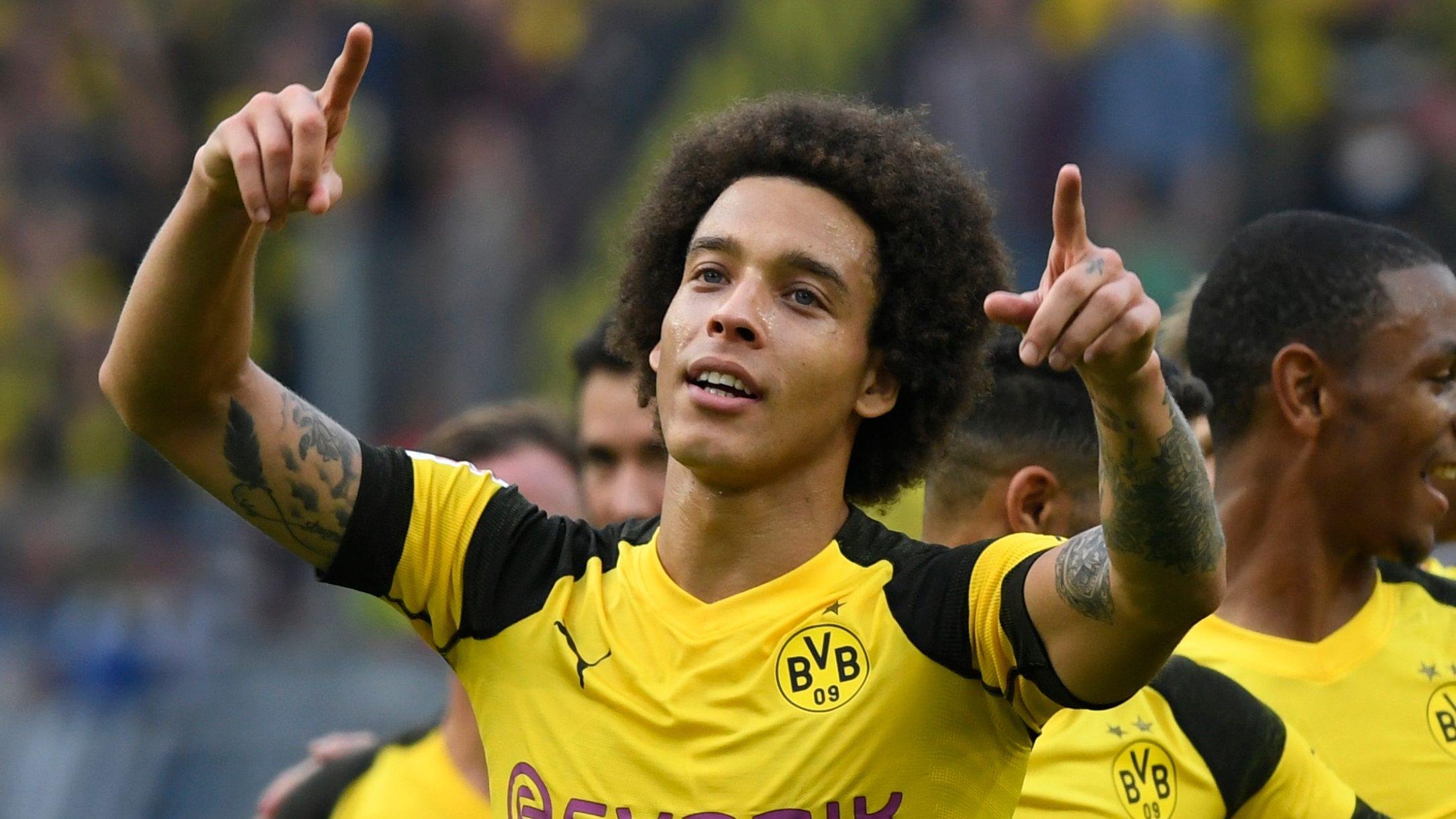 Análisis: Axel Witsel, el motor del Dortmund