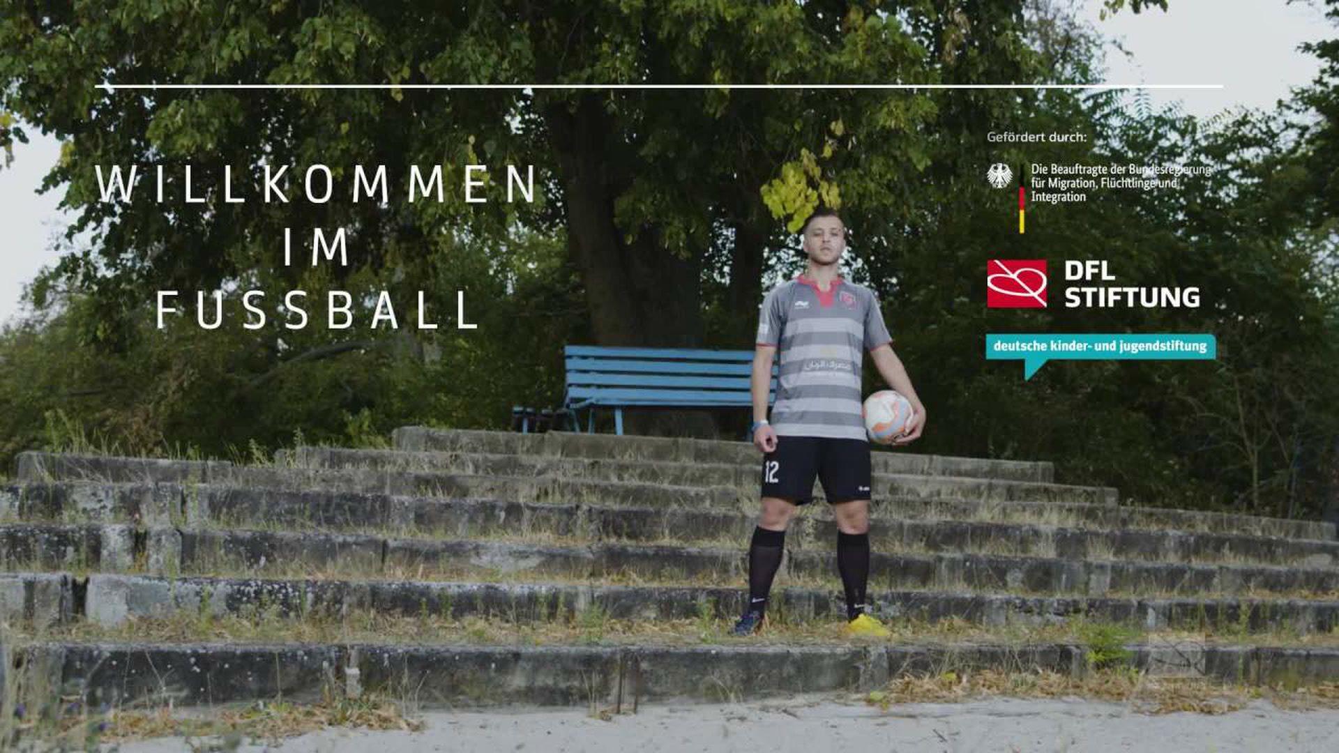 Willkommen im Fußball - SV Darmstadt 98 unterstützt Hisham Jameel