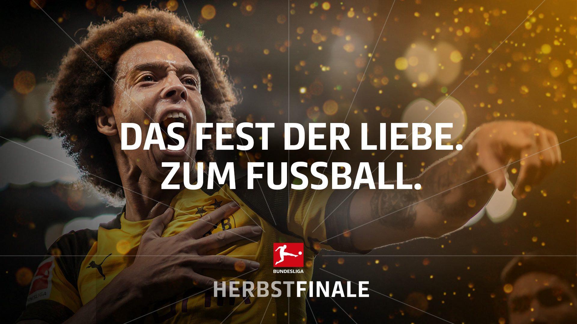 Bundesliga-Herbstfinale: 27 Spiele in 10 Tagen