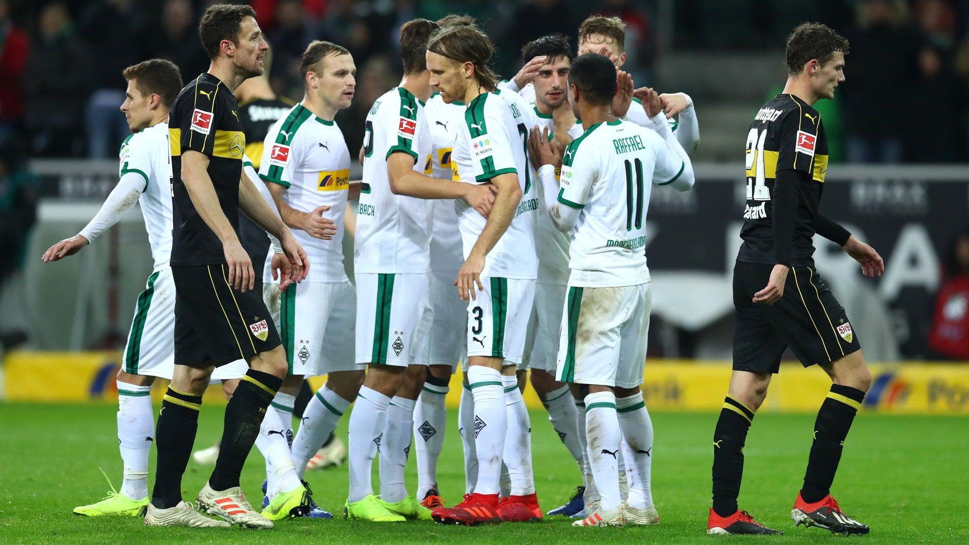 Watch: Gladbach 3-0 VfB Stuttgart