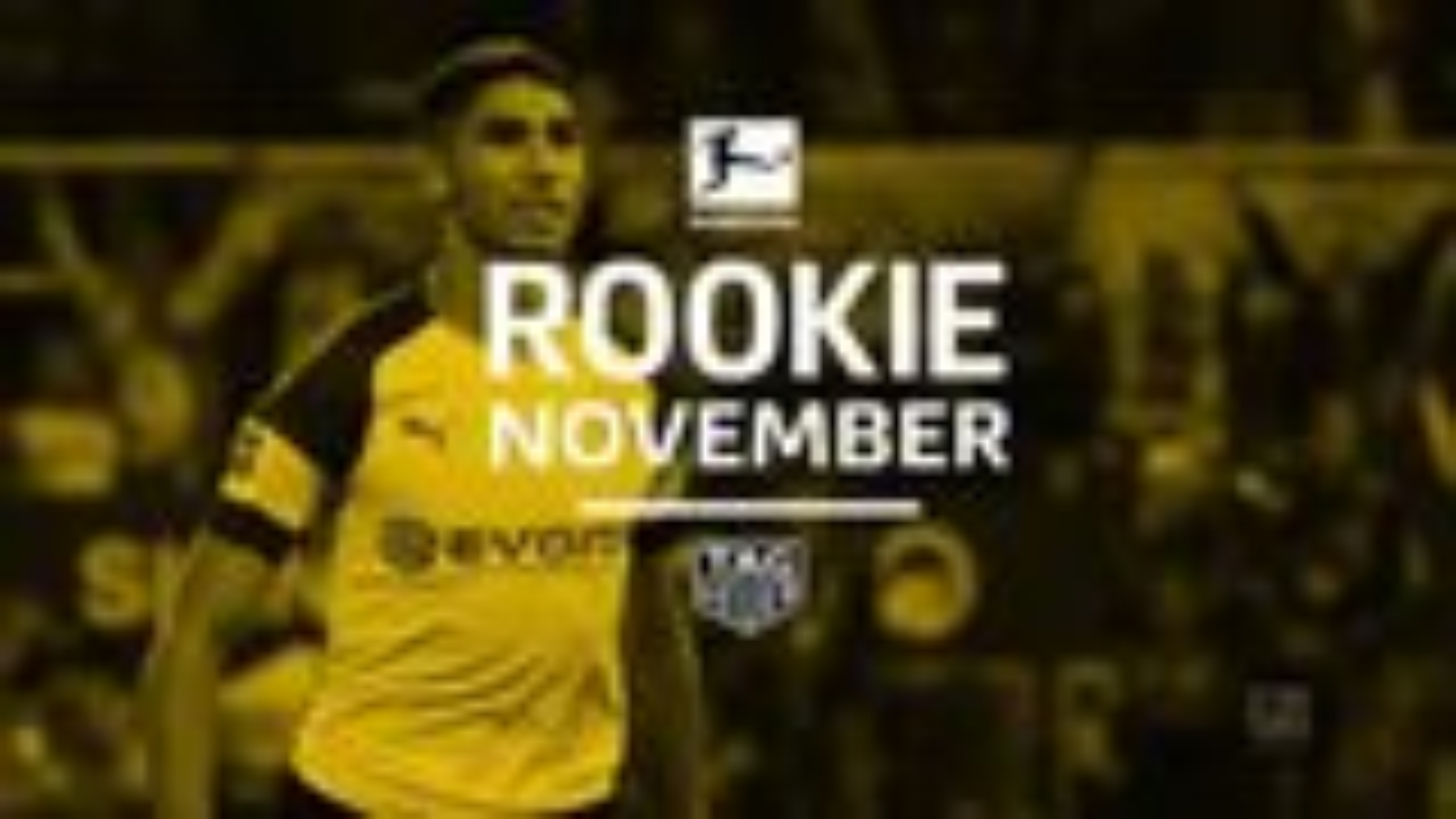 Achraf Hakimi vom BVB ist der Rookie im November