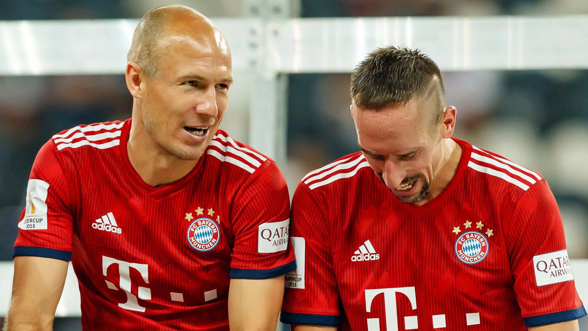Bundesliga | Bayern Munich's Arjen Robben and Franck Ribery: An ...