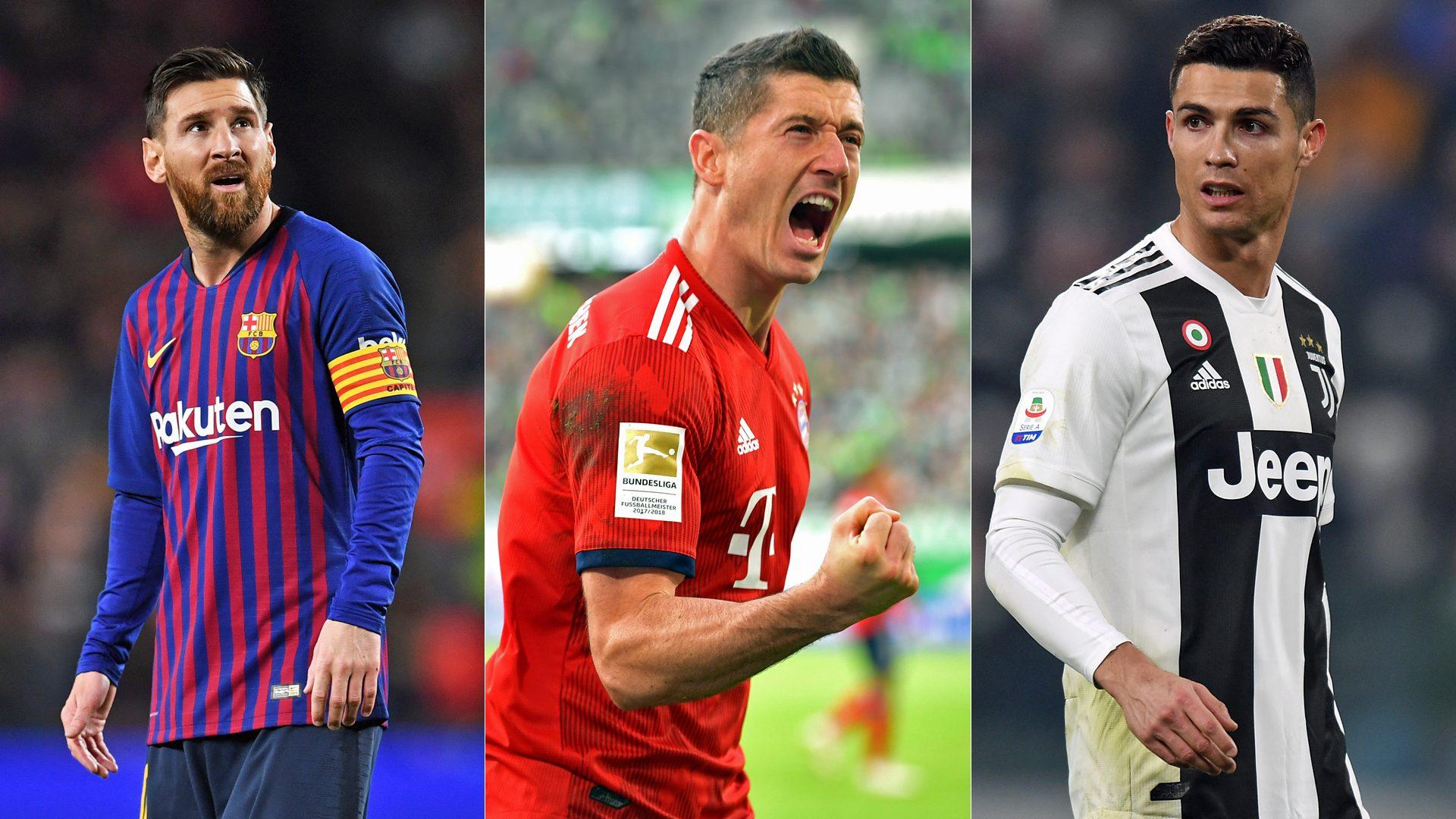 Lewandowski, mejor que Messi y Cristiano