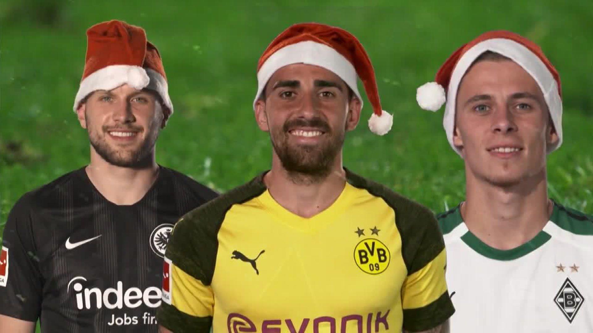 Weihnachts-Überraschungen der Bundesliga-Stars