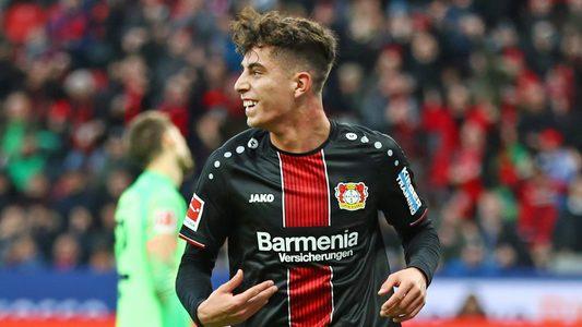 Bundesliga   Bayer Leverkusen up to 9th after Kai Havertz ...