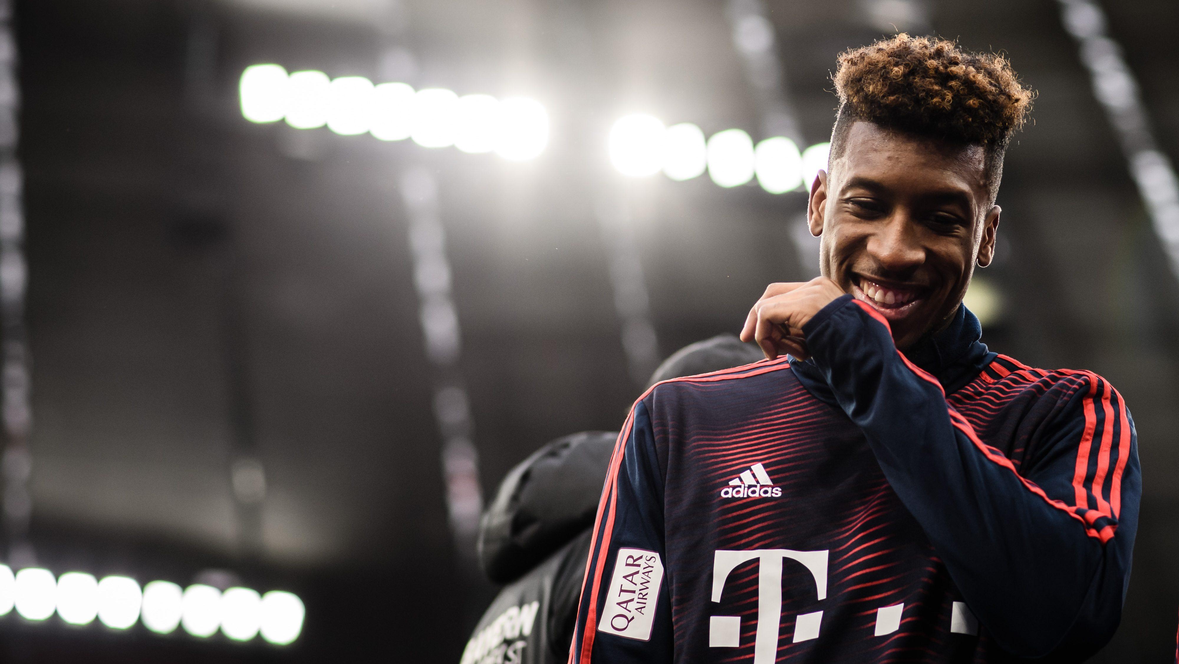 huge selection of 420a2 609a3 Bundesliga | Kingsley Coman: The key to Bayern Munich's ...