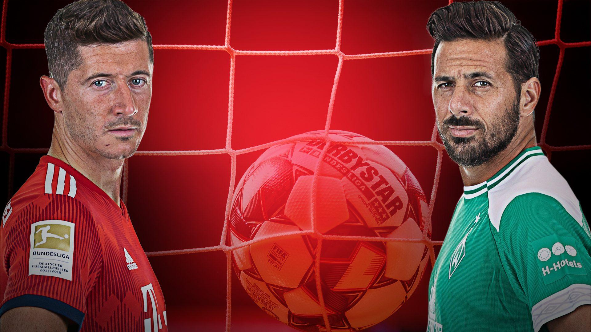Lewandowski und Pizarro auf Bundesliga-Rekordjagd
