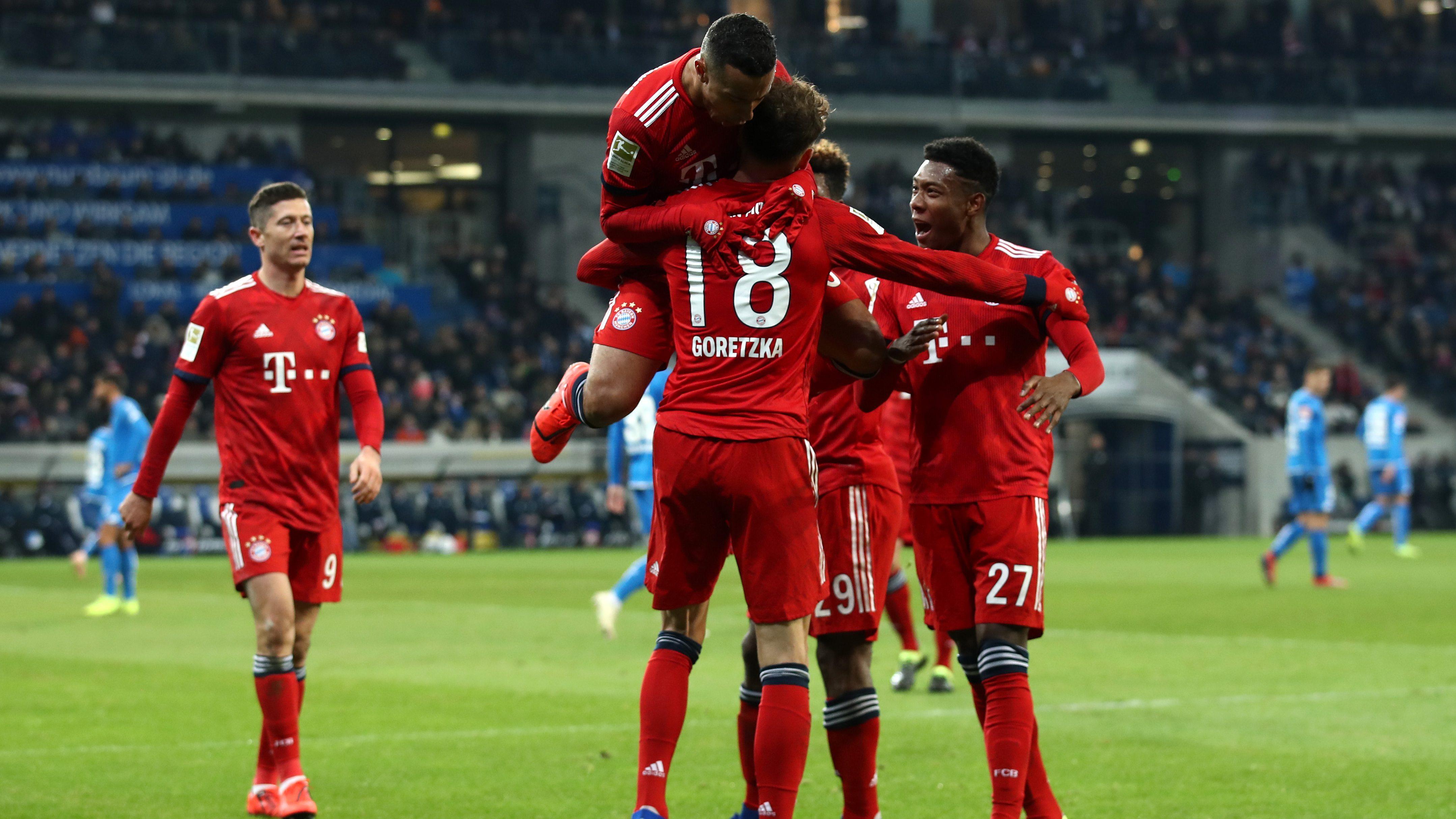 Goretzka führt Bayern zum Sieg in Hoffenheim
