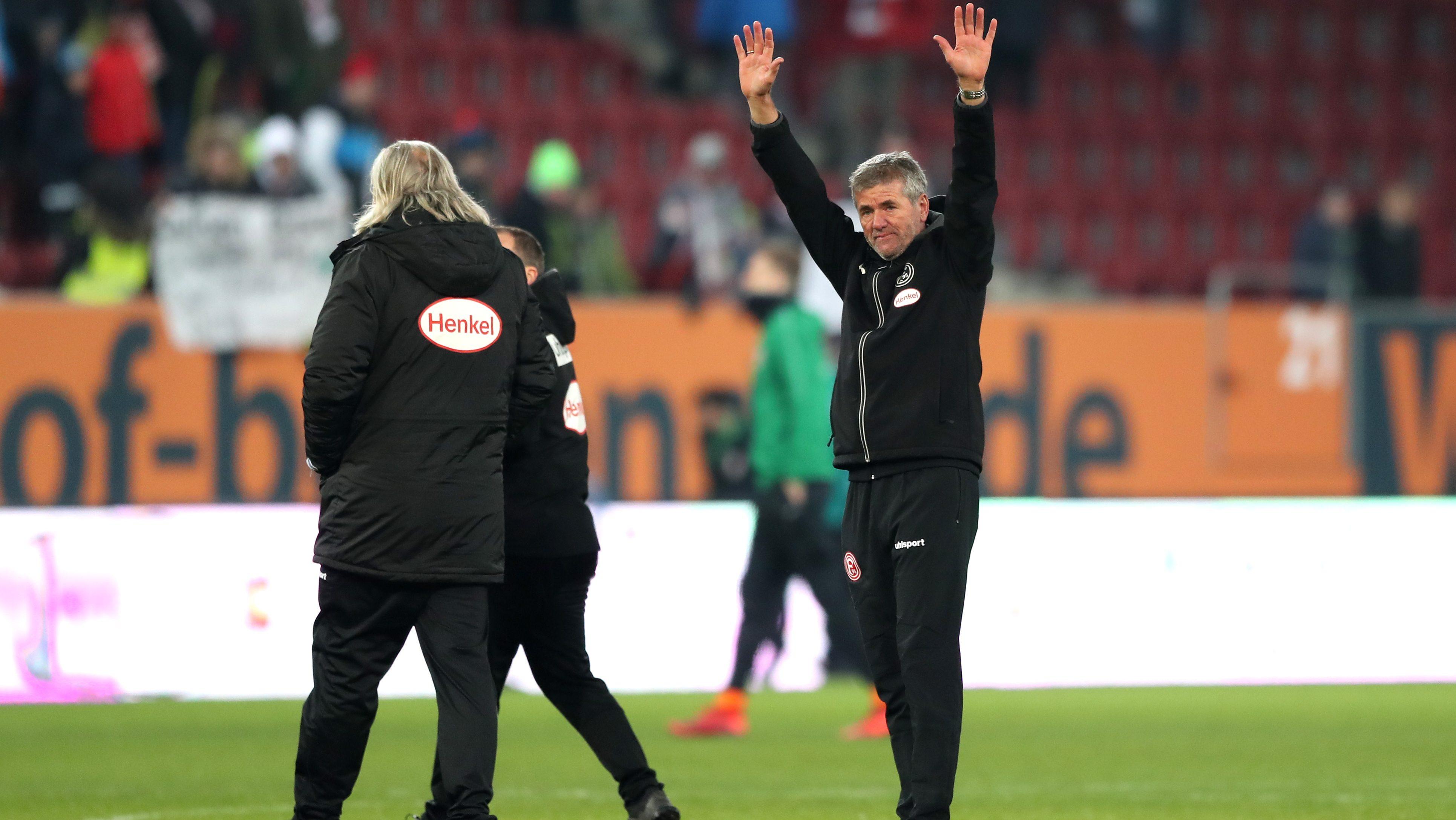 Düsseldorf und Funkel feiern ihre Siegesserie