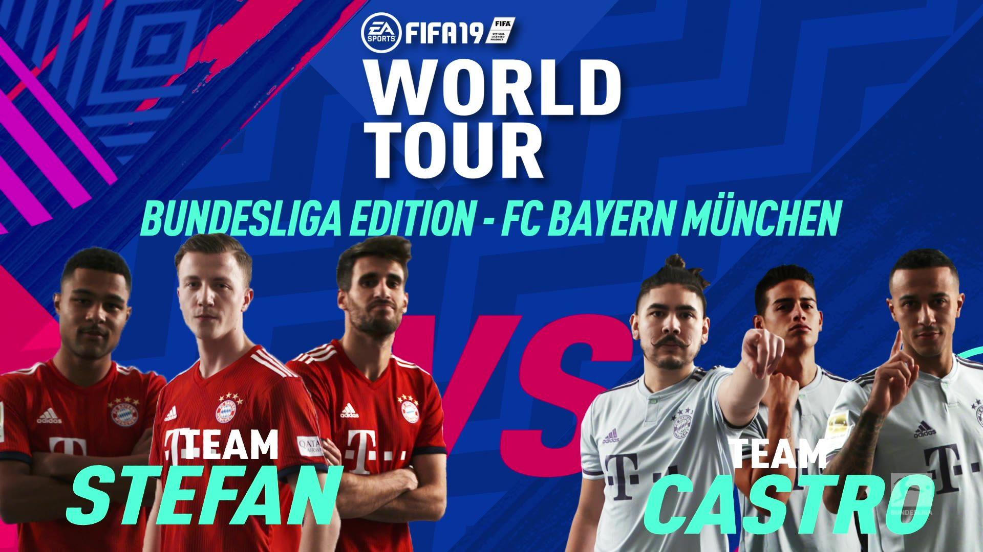 FIFA 19: Gnabry und Martinez vs. James und Thiago