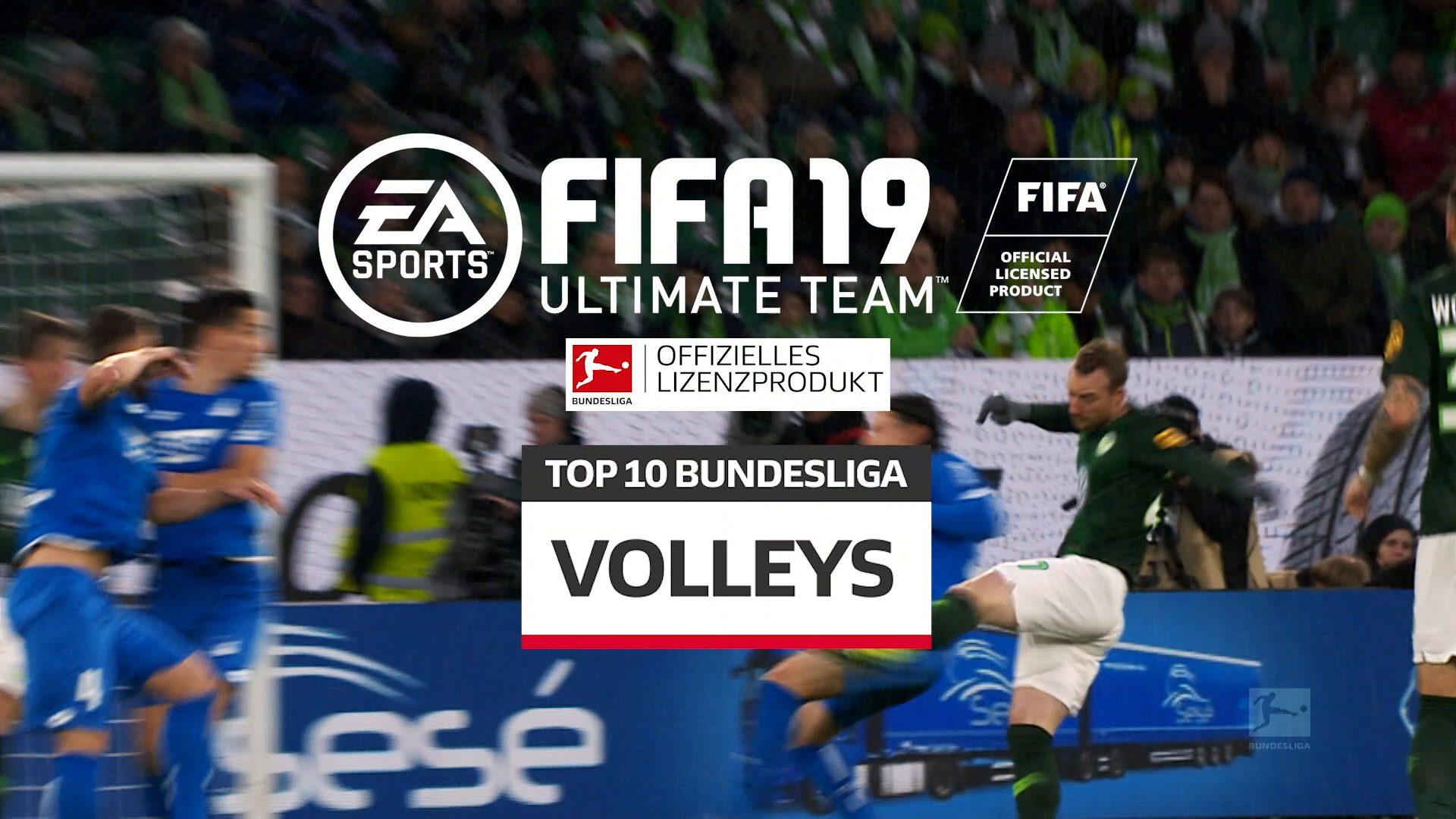 Diese Stars schießen die besten Volleys in FIFA 19