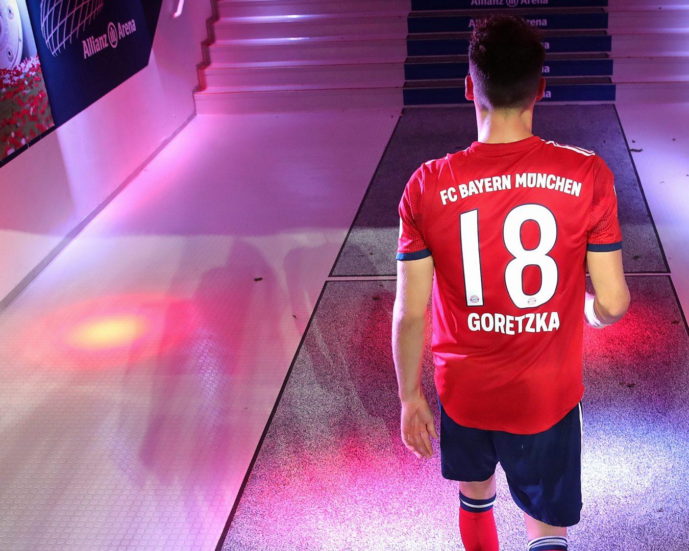 detailing ae670 f6b1a Bundesliga   Leon Goretzka coming of age at Bayern Munich