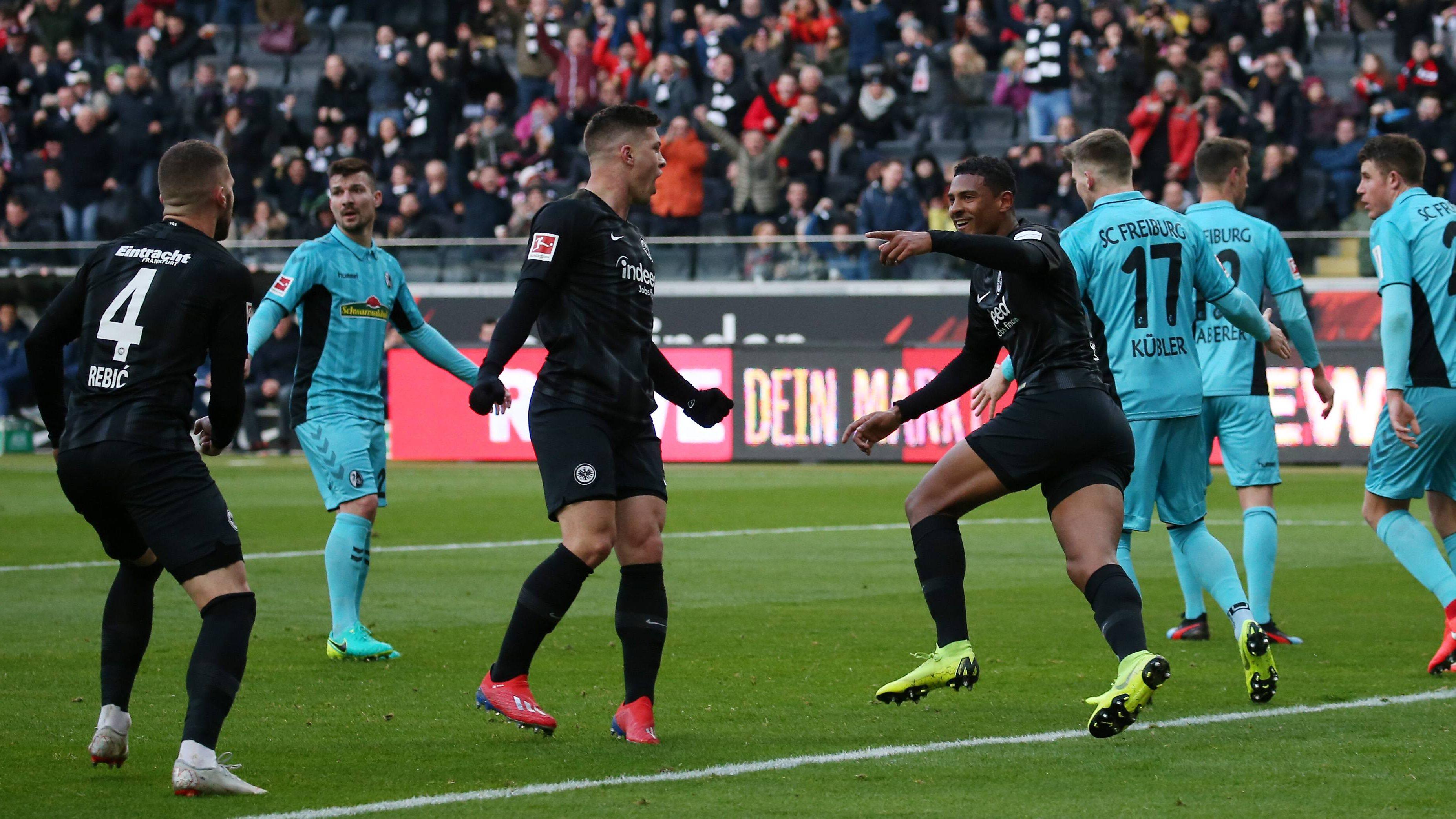 3:1 gegen Freiburg: Frankfurt feiert Heimsieg