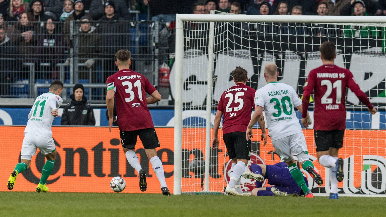 Werder Bremen feiert verdienten Sieg in Hannover