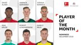 Vote for December's Bundesliga Player of the Month!
