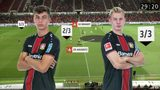 Brandt und Havertz in der Taktik-Analyse