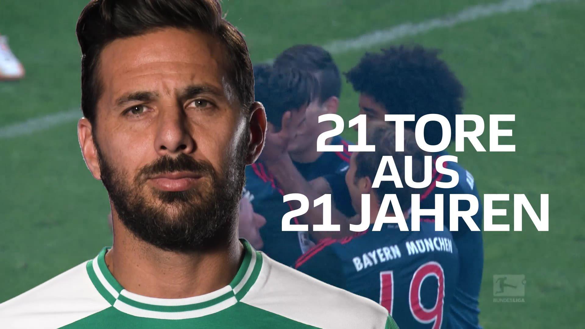 21 Tore aus 21 Jahren: Claudio Pizarros Rekordserie
