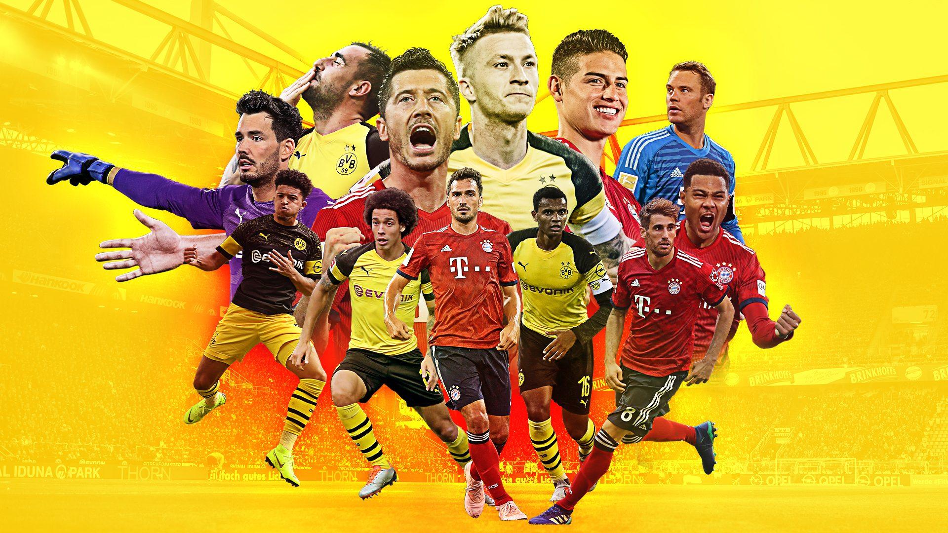 Spannender Titelkampf zwischen BVB und FCB