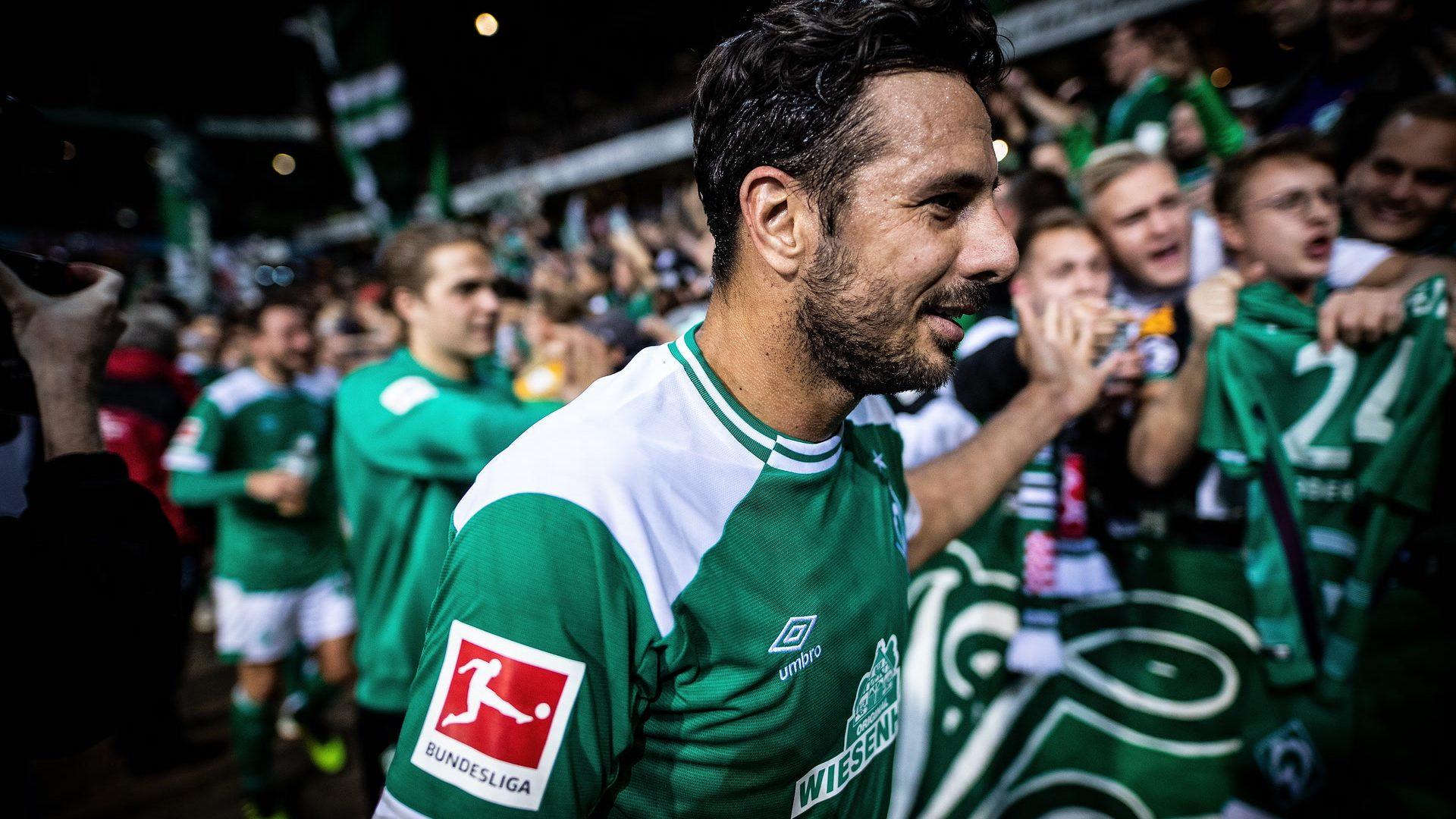 Bremen-Torjäger Claudio Pizarro - der Rekordbrecher