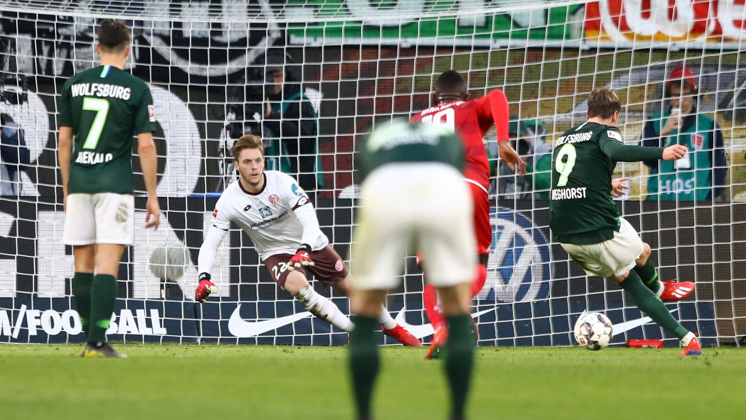 Wolfsburg schlägt Mainz souverän mit 3:0