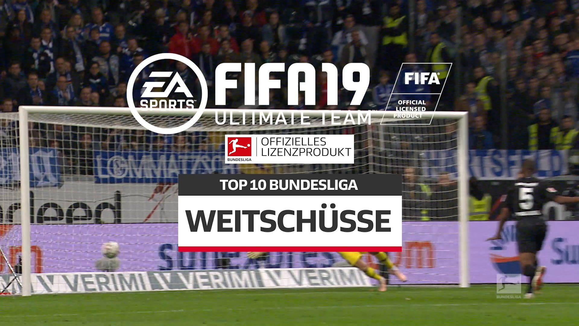 Das sind die besten Distanzschützen bei FIFA 19