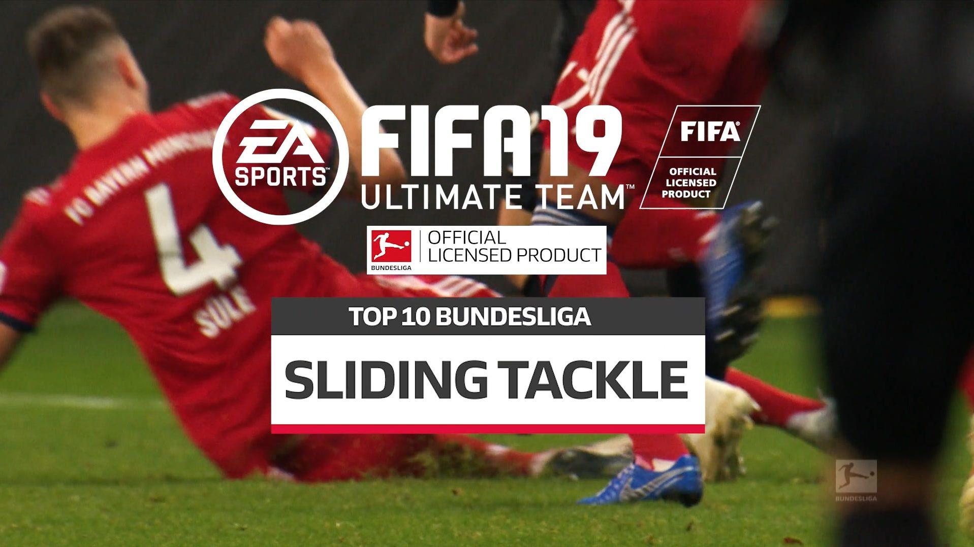 FIFA19特別企画、スライディングタックルTOP10