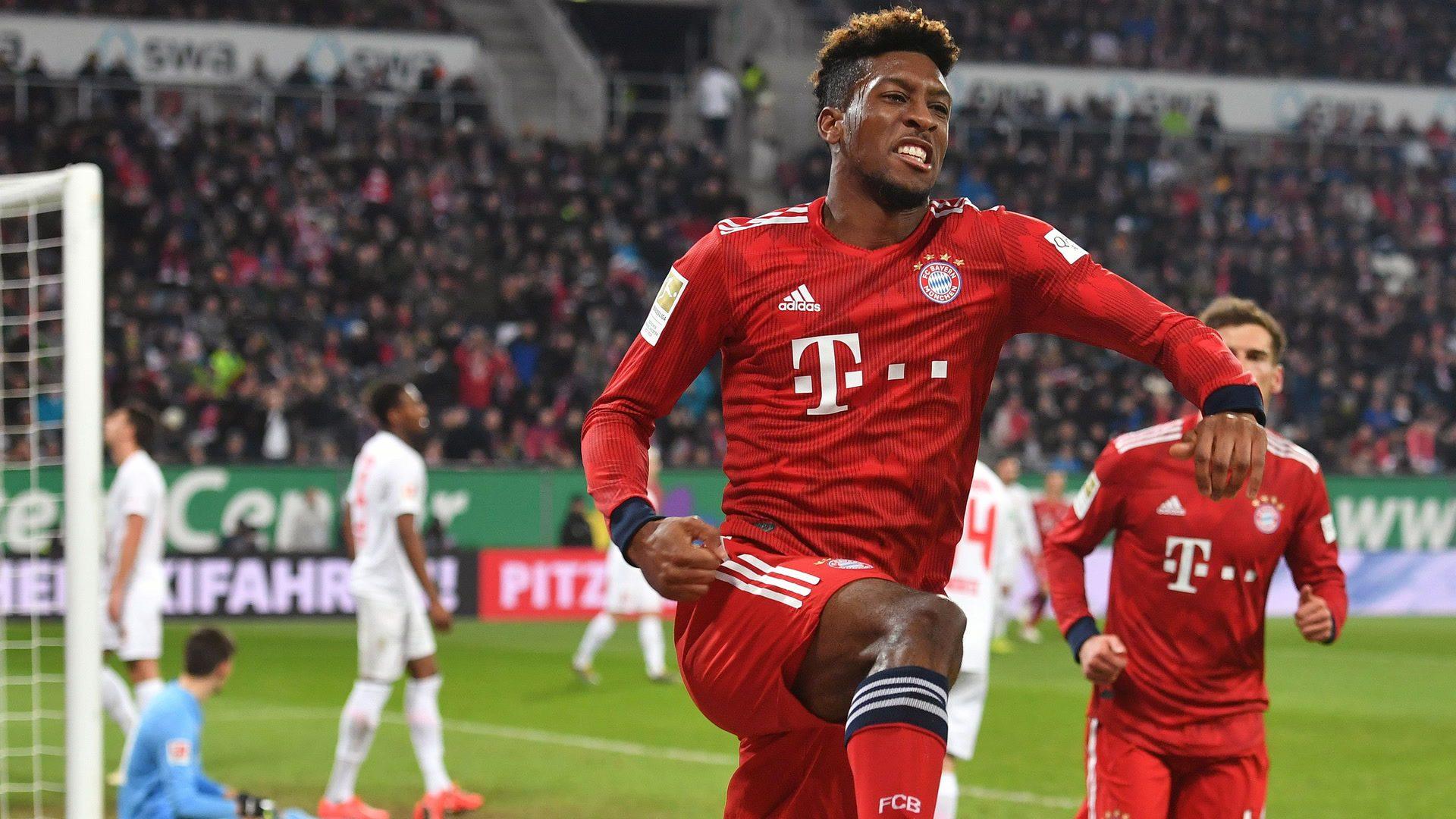 Coman shines as Bayern survive Augsburg scare