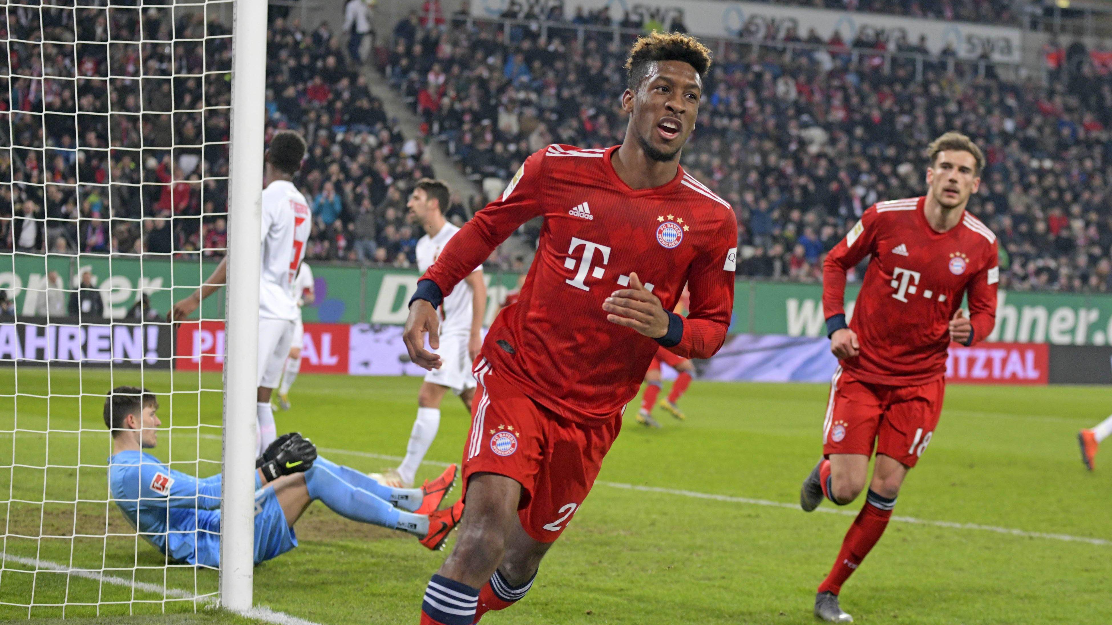 Kingsley Coman ragt beim FC Bayern heraus
