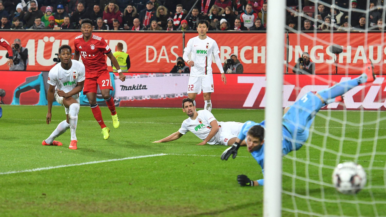 3:2 - Bayern dreht die Partie gegen den FCA