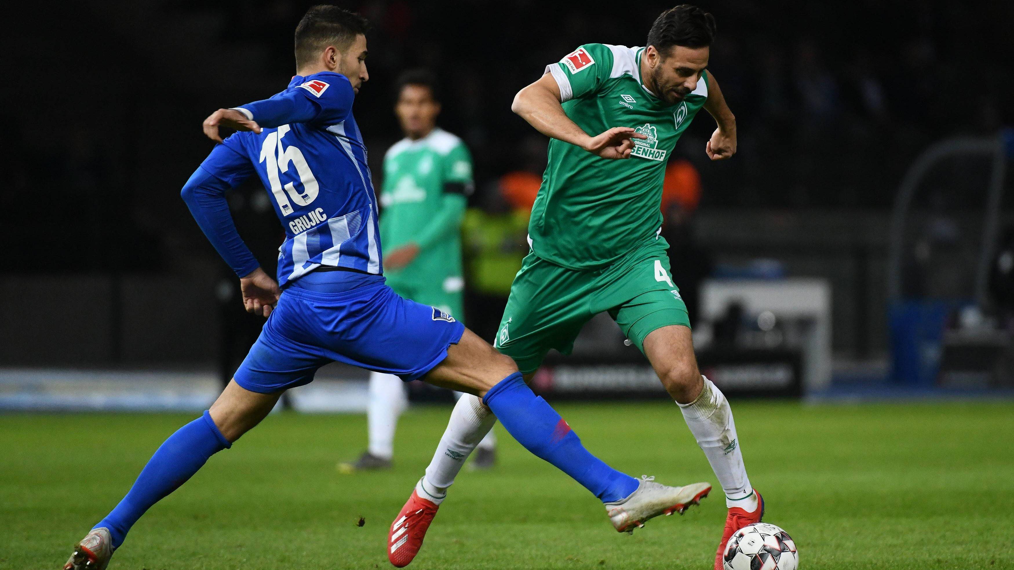 Werder Bremen und Hertha BSC trennen sich mit 1:1