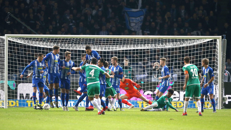 Pizarro rettet Bremen einen Punkt bei der Hertha
