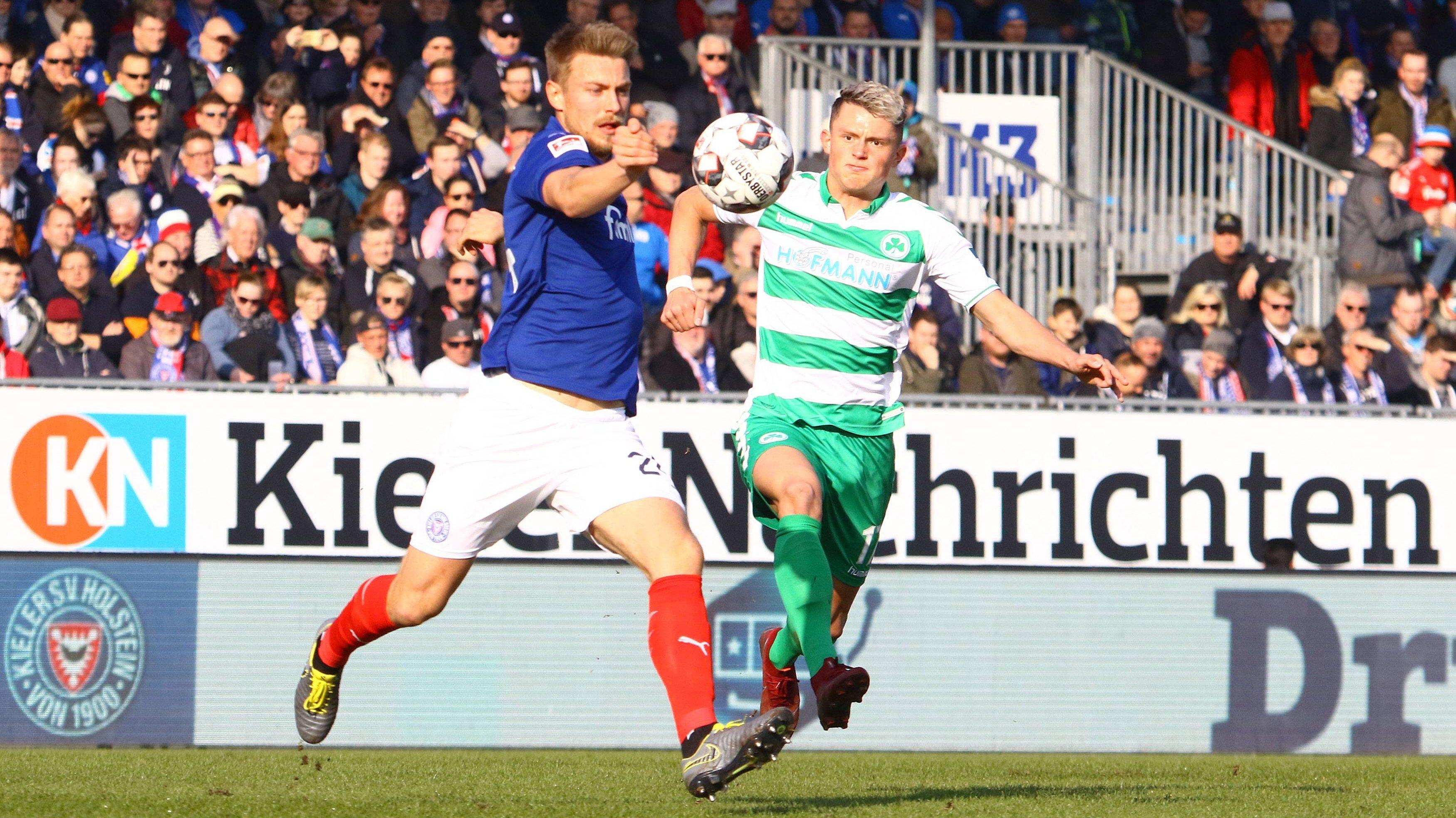 2 Bundesliga Spielbericht Holstein Kiel Spvgg Greuther Furth