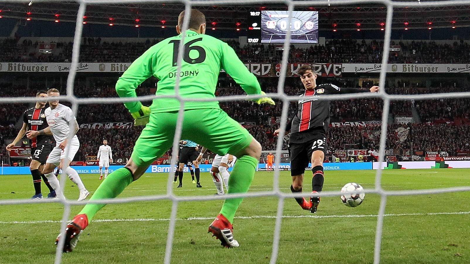 2:0 gegen Düsseldorf: Leverkusen ist Fünfter