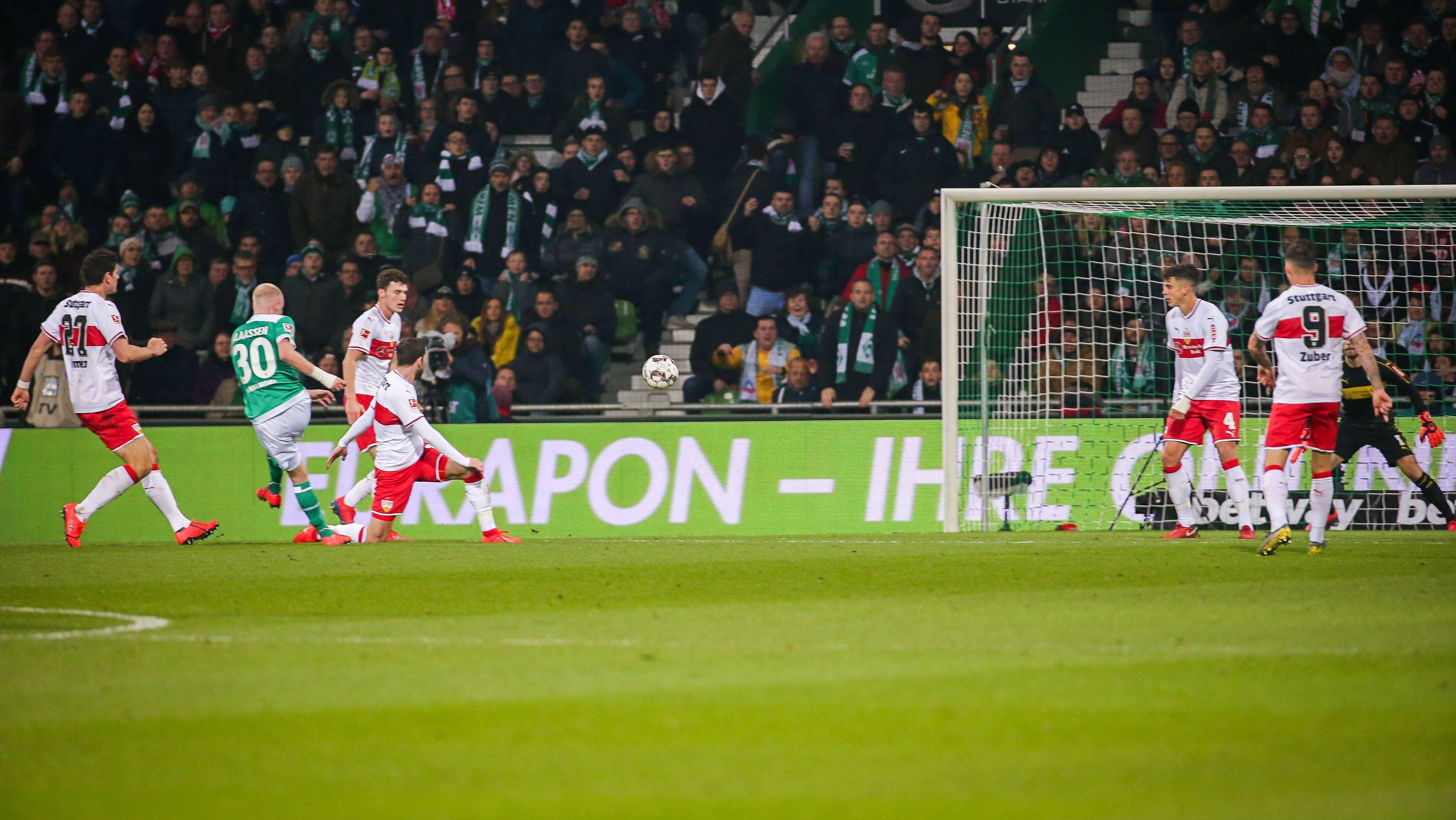 Nur Remis, aber Serie hält: Werder trifft immer