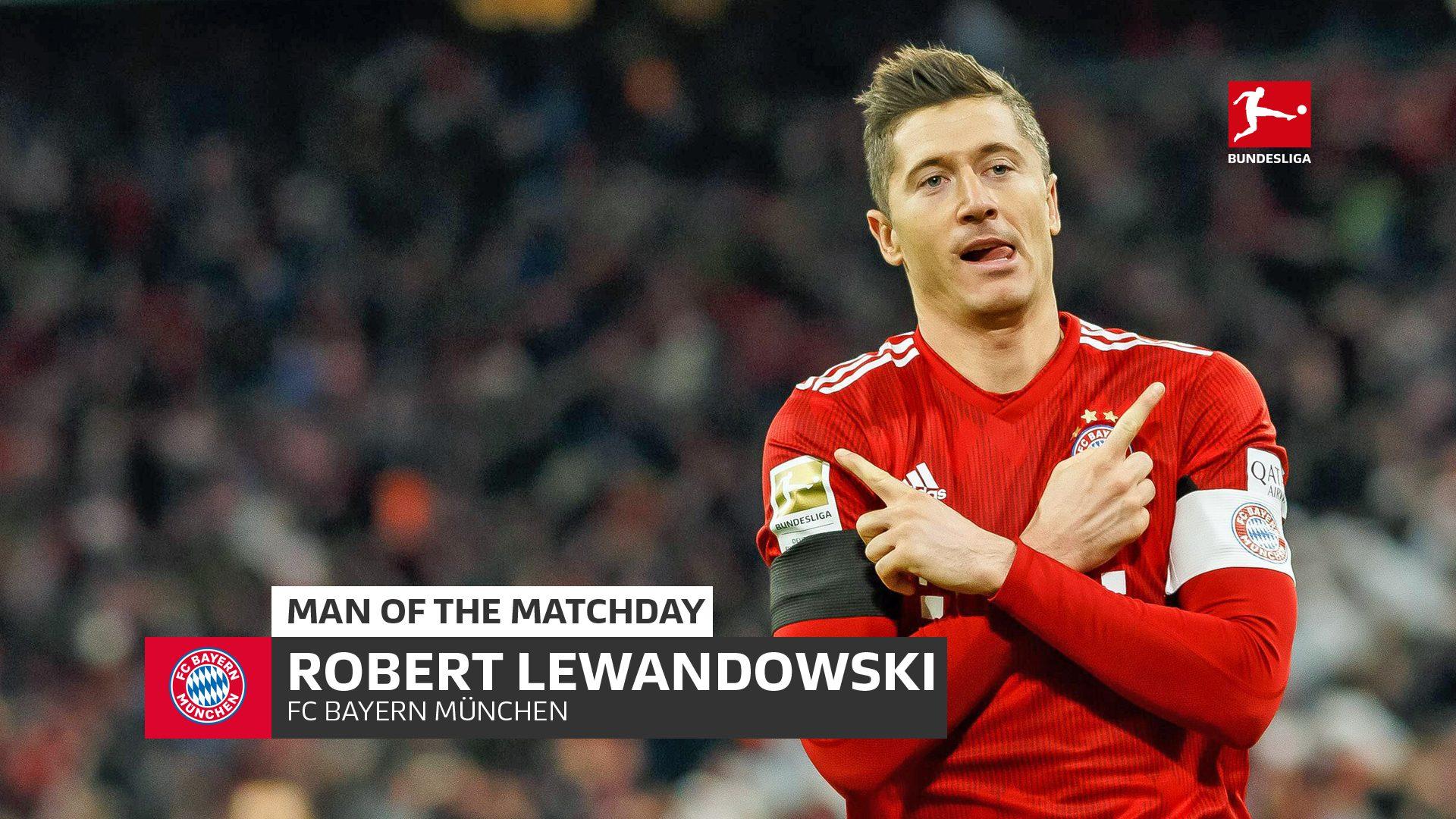 Bundesliga Robert Lewandowski Bayern Munich S Allianz