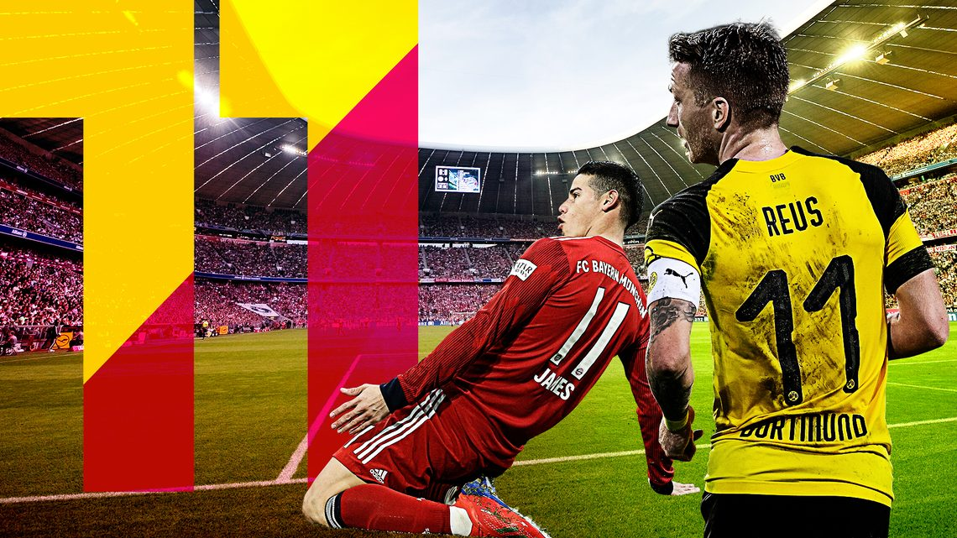 finest selection 005d5 c67d6 Bundesliga | James Rodriguez or Marco Reus? A combined ...