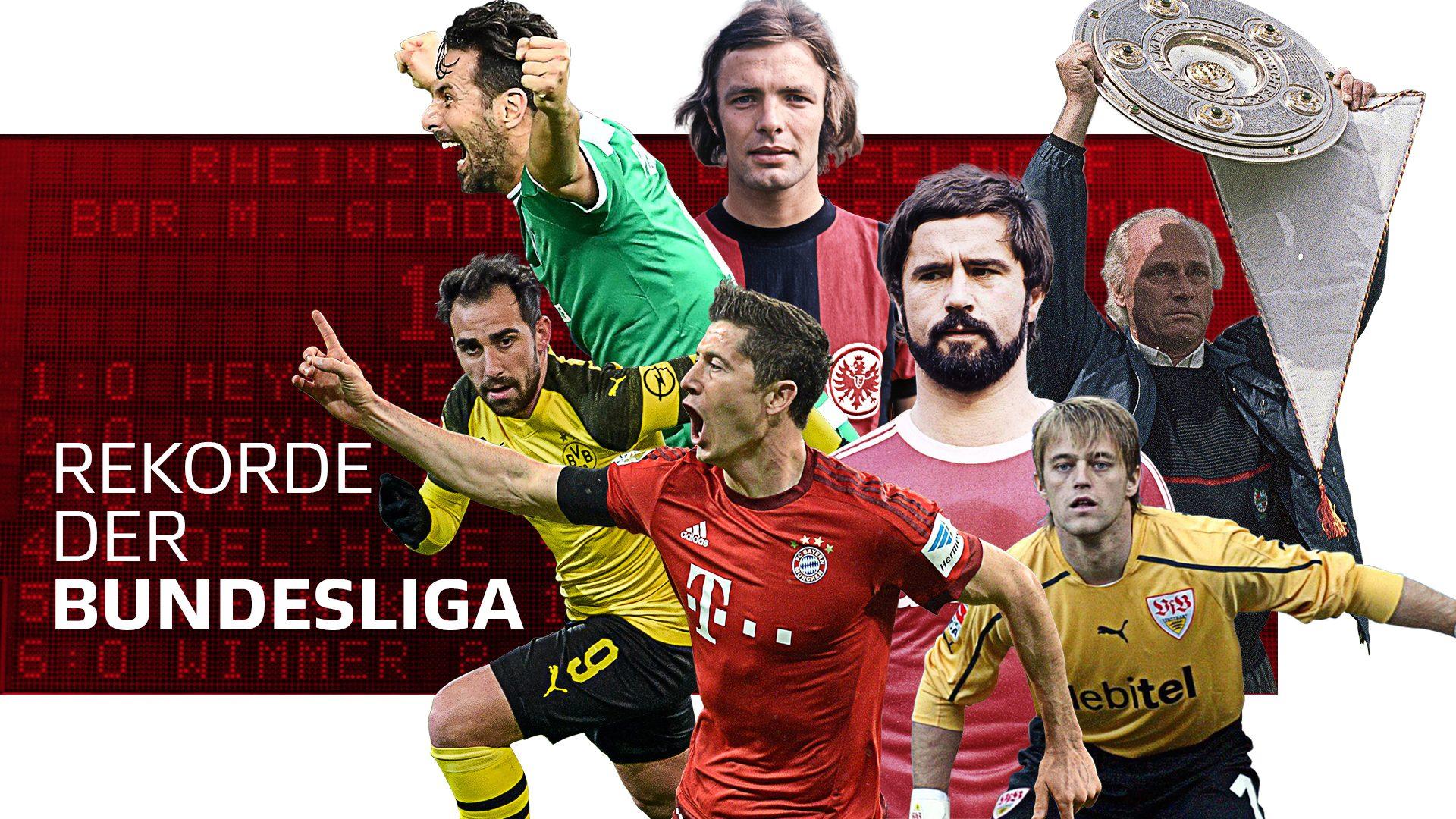 Die Rekorde der Bundesliga