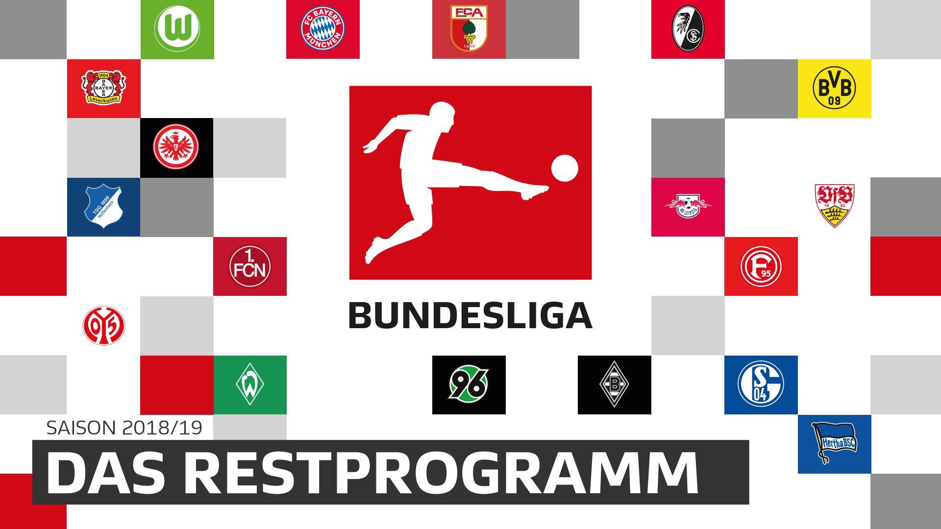Saisonfinale: Das Restprogramm der Clubs