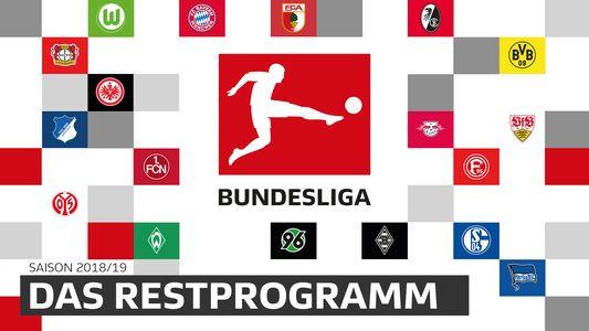 Restprogramm 2. Liga