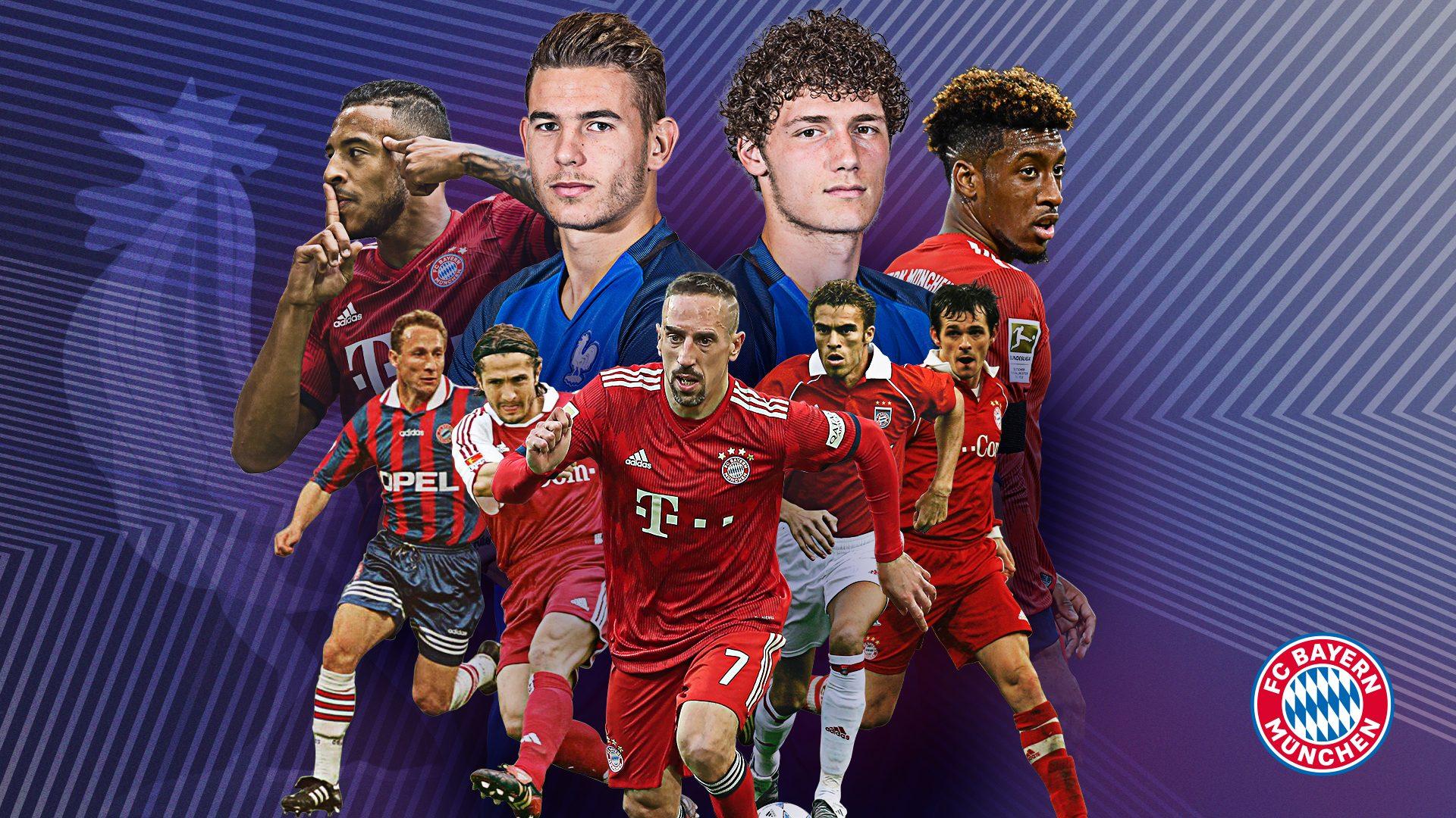 Bundesliga Franzosen Beim Fc Bayern Munchen Eine