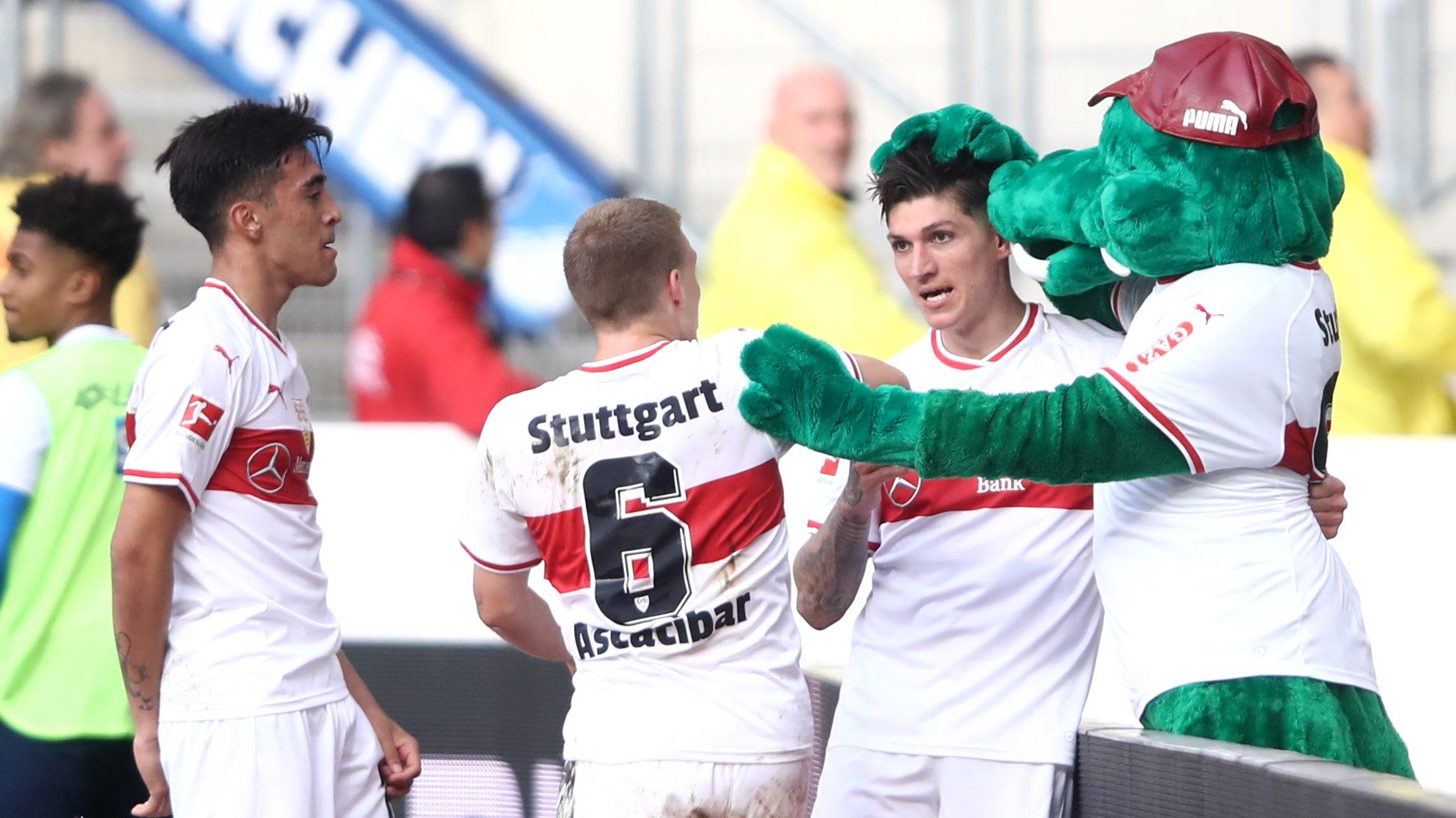 Kramaric and Zuber trade goals as Hoffenheim held in Stuttgart