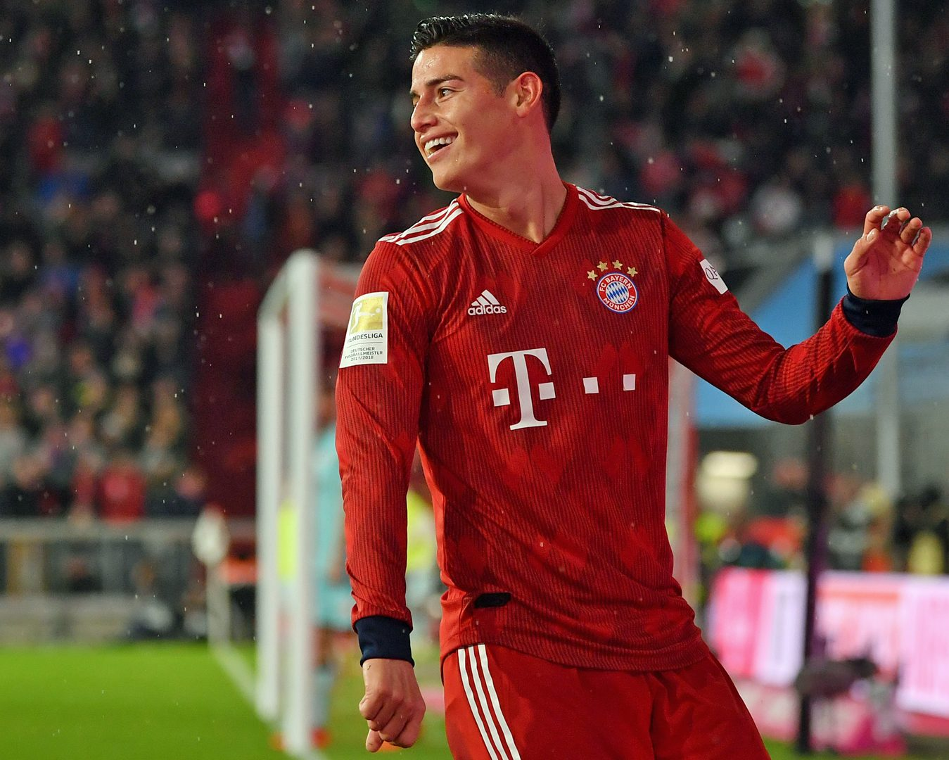 Bundesliga James Rodriguez Happy At Bayern Munich Important Games To Come