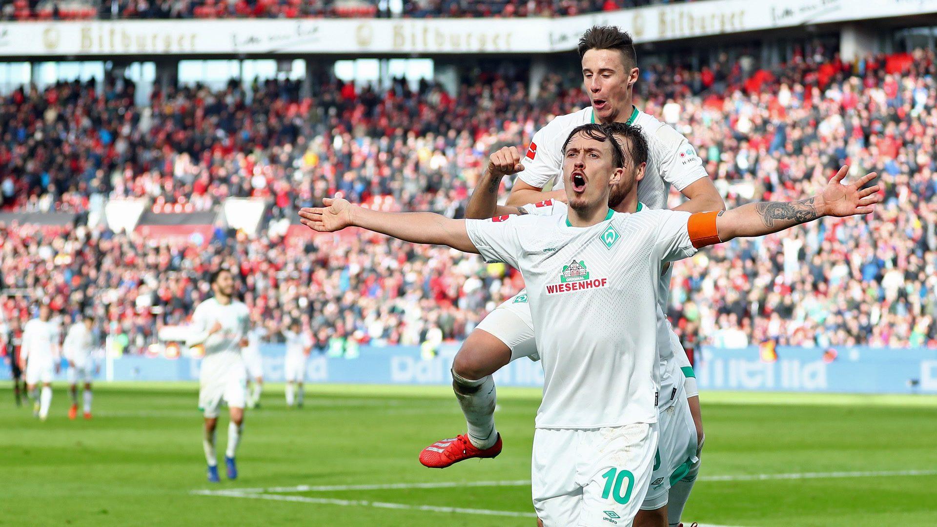 Kruse stars for Werder in Leverkusen win