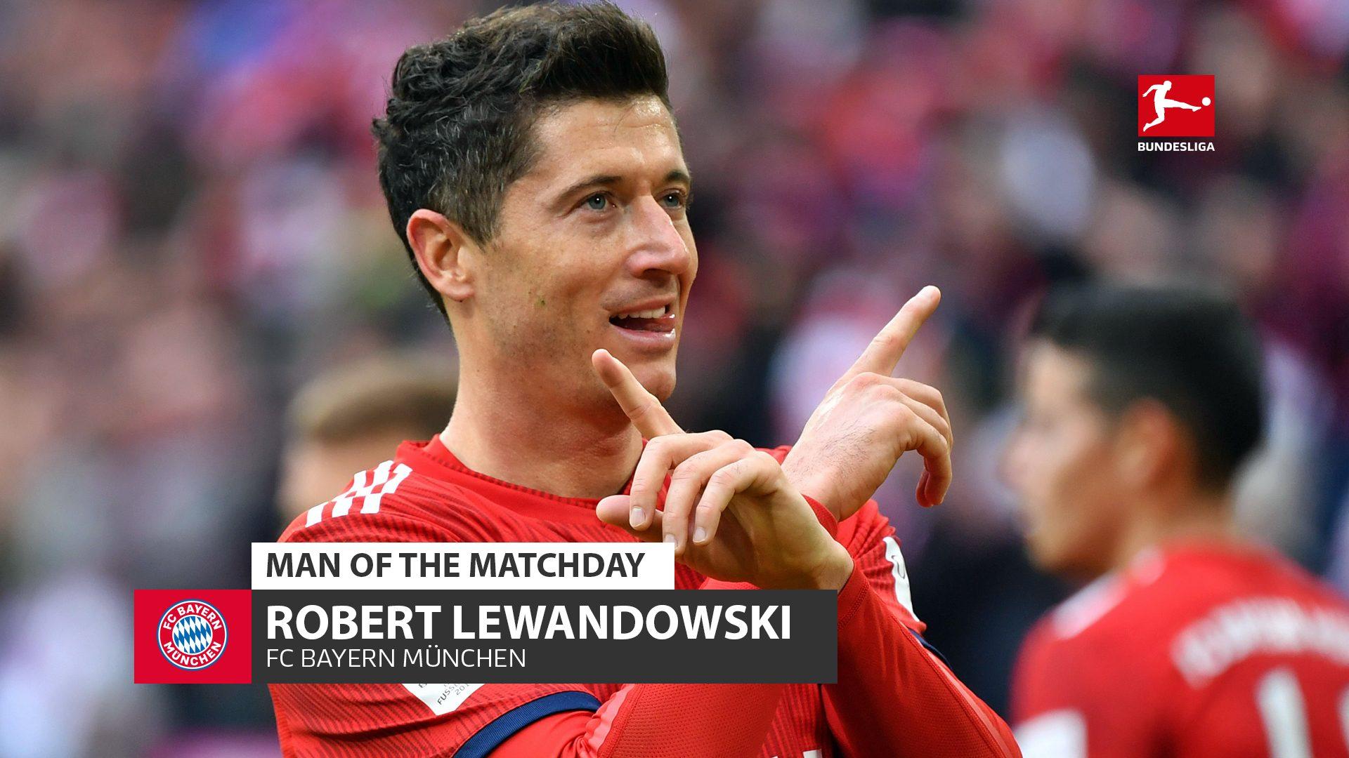 bundesliga robert lewandowski the record foreign scorer and matchday 25 s man of the matchday bundesliga robert lewandowski the
