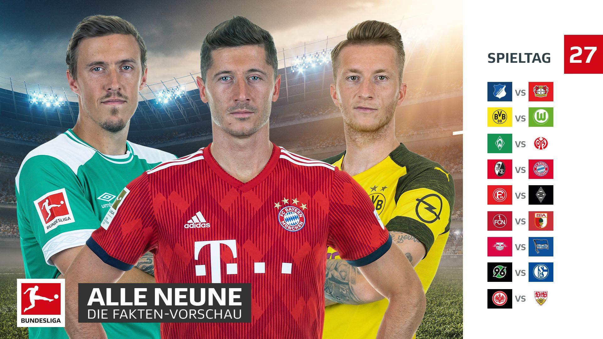 27 Spieltag Bundesliga