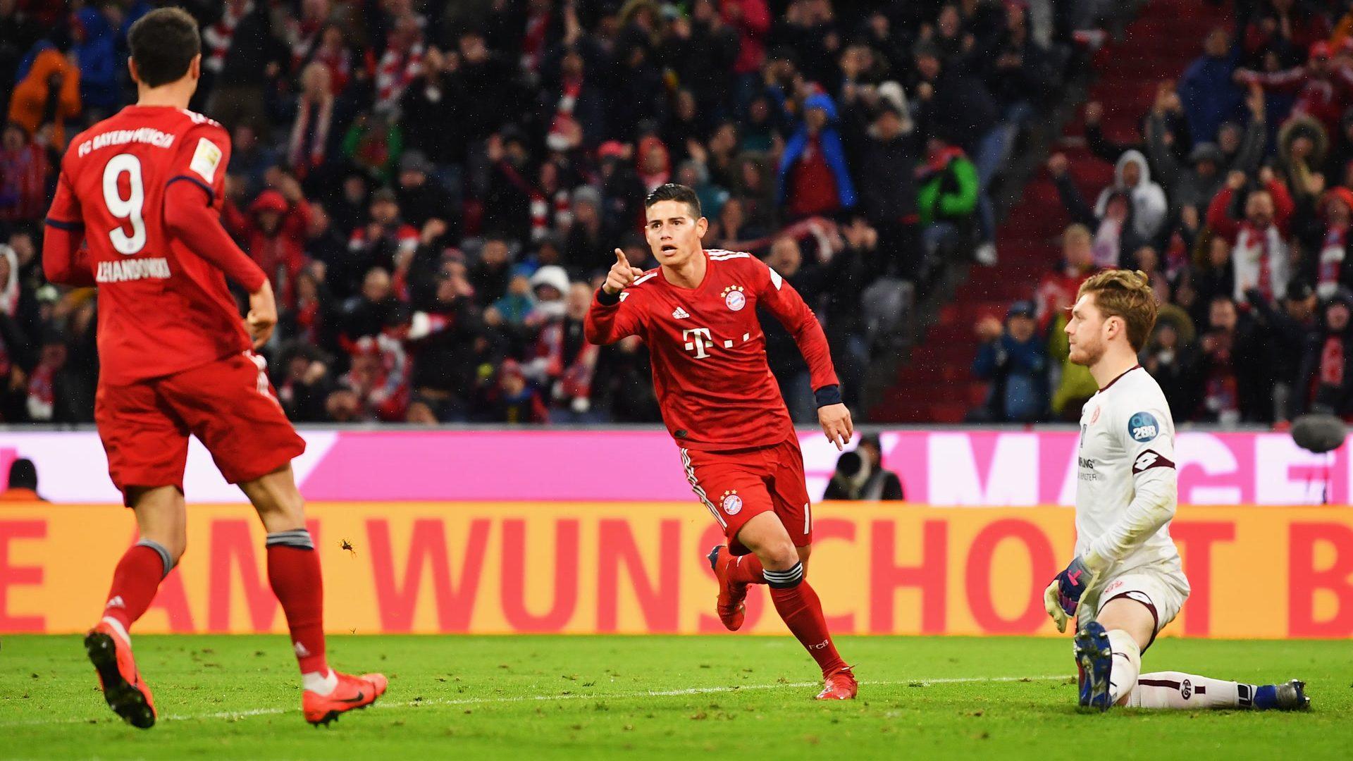 Die Bayern feiern auch gegen Mainz ein Torfestival