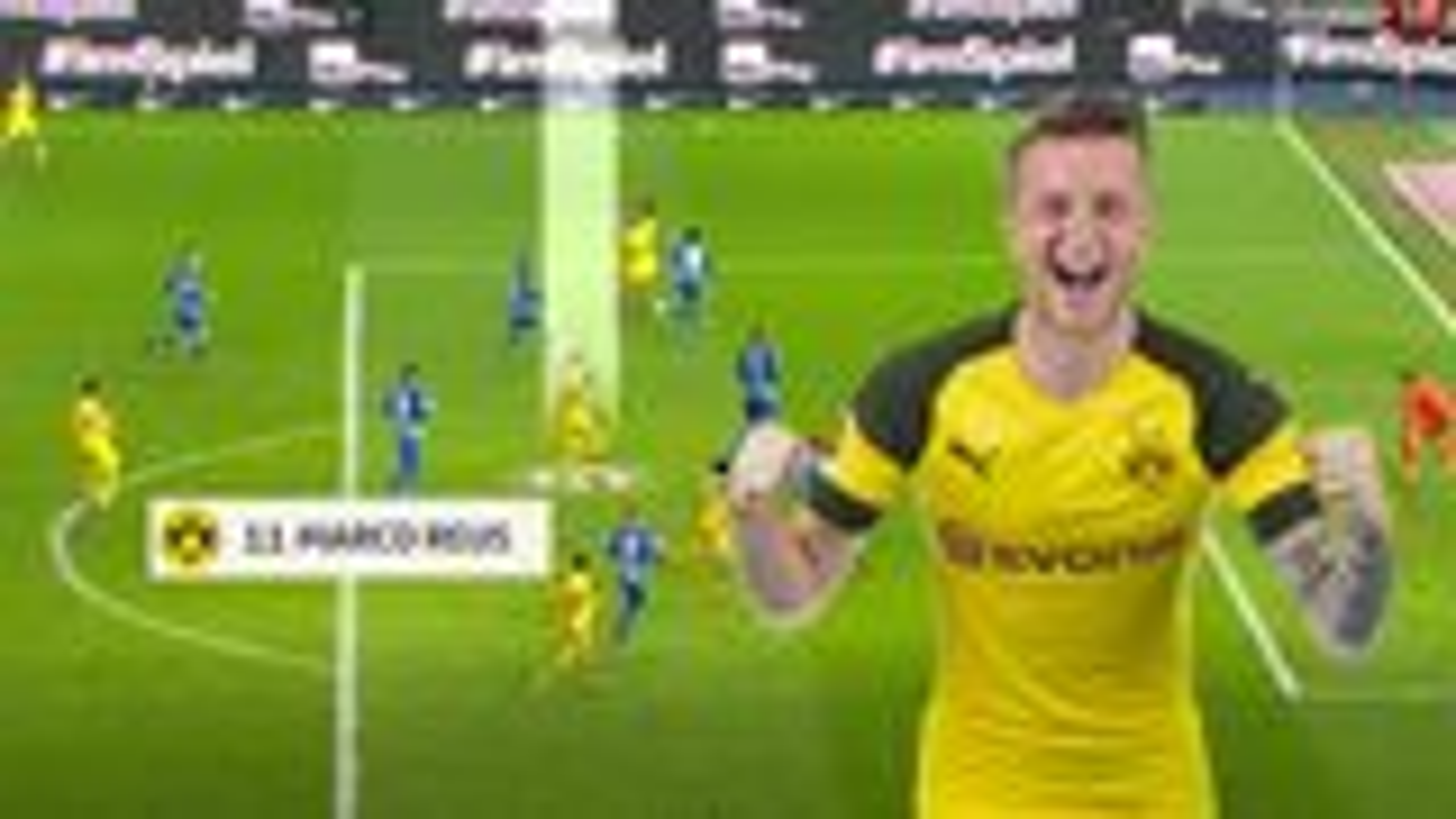 So erzielt Marco Reus seine Tore